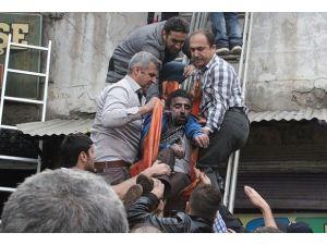 Gaziantepte iş hanında yangın: 2 ölü, 45 yaralı