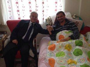 Başkan Acar,  Irmakı evinde ziyaret etti