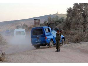 Türkiye-Suriye sınırında kaçakçıların girişimi engellendi