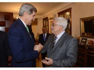 Kerry-Abbas görüşmesinde gerginlik