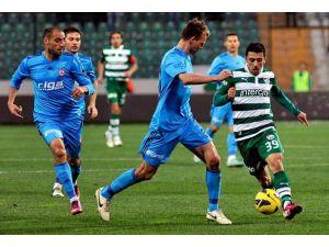Sivasspor ile Bursaspor ligde 17. randevuda