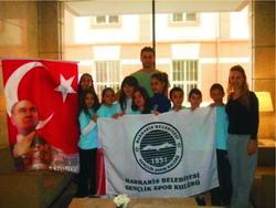 Yüzme şubesi altyapı yüzme kampına katılıyor