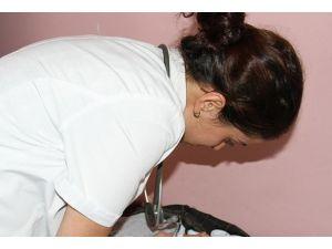 Kadın sağlıkçı kapsam dışı