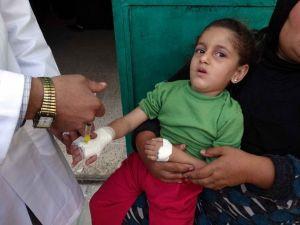 UNICEF ve DSÖden rekor aşı kampanyası