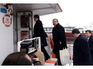 BDP ve HDPli milletvekilleri İmralıya gitti