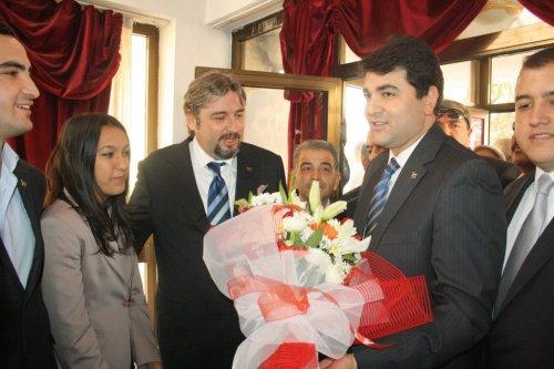 DP Genel Başkanı Uysal Aydın da