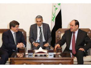 Davutoğlu Maliki ile görüştü