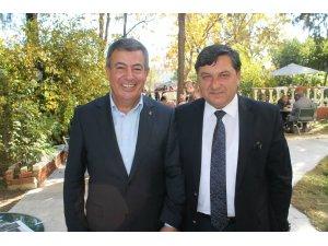 AK Partililerden Demirci ile Yazgana ilgi