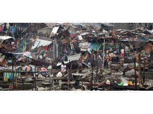 Filipinlerde tayfun dramı