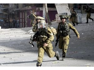 İsrail askerinden anma yürüyüşüne müdahale