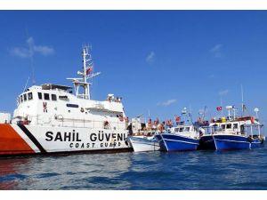 Balıkçı teknelerine Yunan tacizi