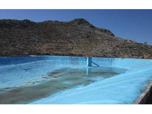 Taşlıca göleti su tutmaya başladı