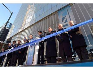Dünya Ticaret Merkezinin 4 numarası hizmete girdi