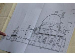 Atinadaki cami inşa ihalesi