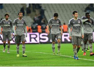 Beşiktaş hazırlık maçında yenildi