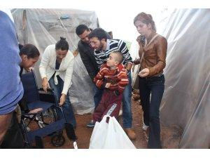 CHP'li kadınlar ve gençler Çetibeli'ndeydi