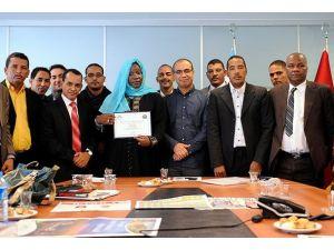 AAdan Moritanyalı gazetecilere eğitim