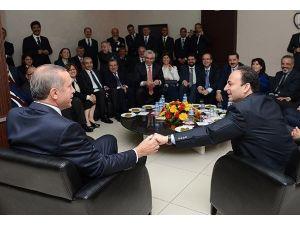 Başbakan Erdoğan ile Baydemir arasında esprili diyalog