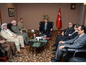 Başbakan Erdoğan Barzani ile görüştü