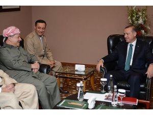 Barzani Erdoğanı Erbile davet etti