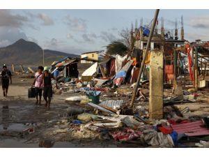 Türkiyeden Filipinlere yardım eli