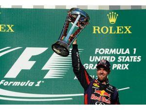 Vettel başladığı gibi bitirdi