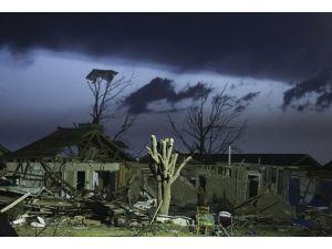 ABDde şiddetli yağış hortum ve fırtına