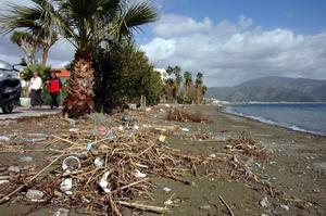 Marmariste sahil kirliliği