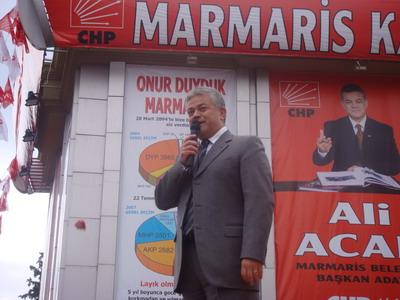 Ali Acar Seçim Bürosunu Açtı