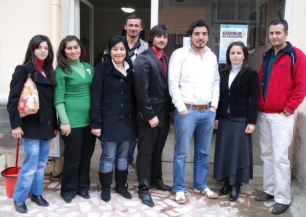 Beldibi Ak Parti Gençlerden ziyaret