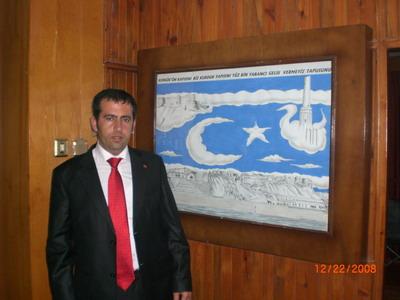 Ahmet Yılmaz Anayurt gazetesinde marmaris