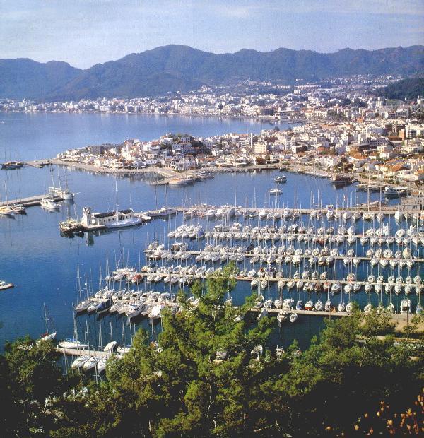 Akdeniz ve Egenin Sahil Kenti: Marmaris