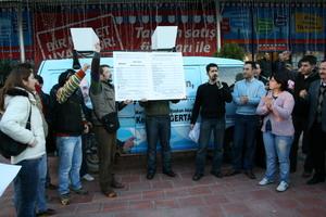 DSP Ali Acara karne çıkardı