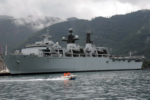 Yabancı savaş gemileri Marmariste
