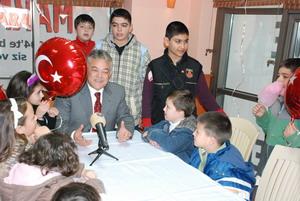 Başkan Acar bu kez Marmaris çocuklarını dinledi;
