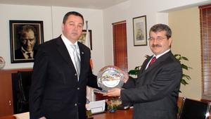 Kaymakam Serdar Polat, Marmaris ticaret odasını ziyaret etti