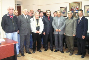 TEMADdan Başkan İspirliye ziyaret