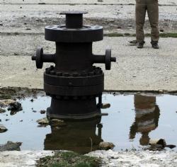 Köyü sakinleri petrol
