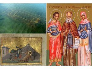 """İznik Gölündeki """"kayıp kilise""""nin sır perdesi aralanıyor"""