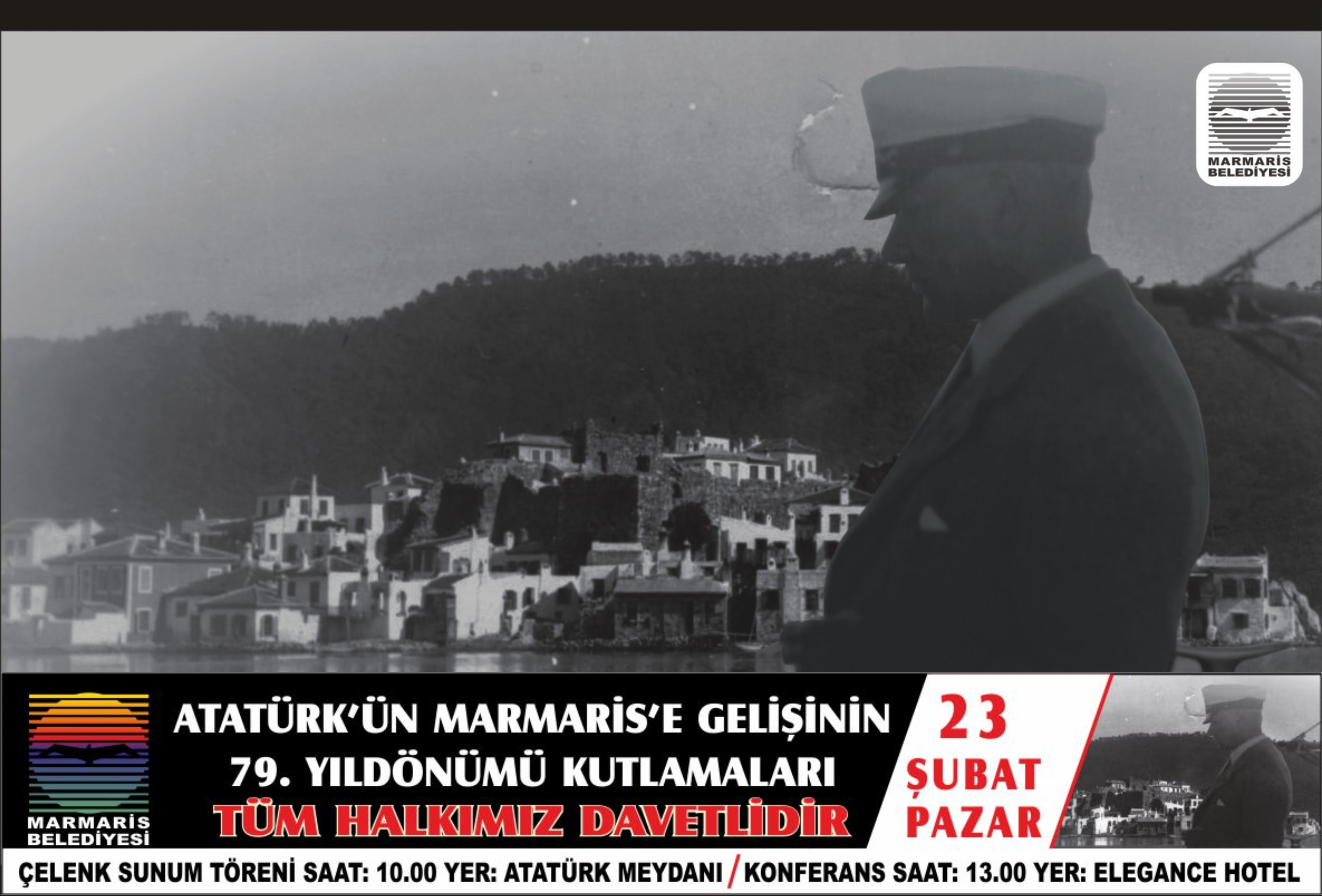 Atatürkün Marmarise gelişi