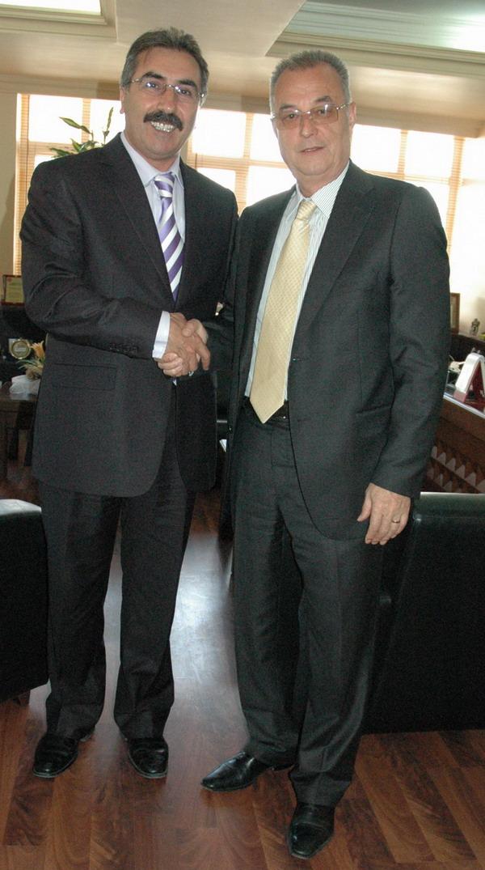 İdris İspirli'den Başkan Ünlü'ye Ziyaret