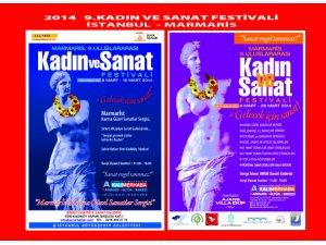 9. Uluslararası Marmarİst Kadın ve Sanat Festivali İstanbulda
