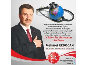 Erdoğan 14 Mart Tıp Bayramını kutladı