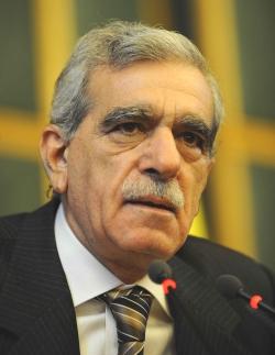 DTP Genel Başkanı Ahmet Türk