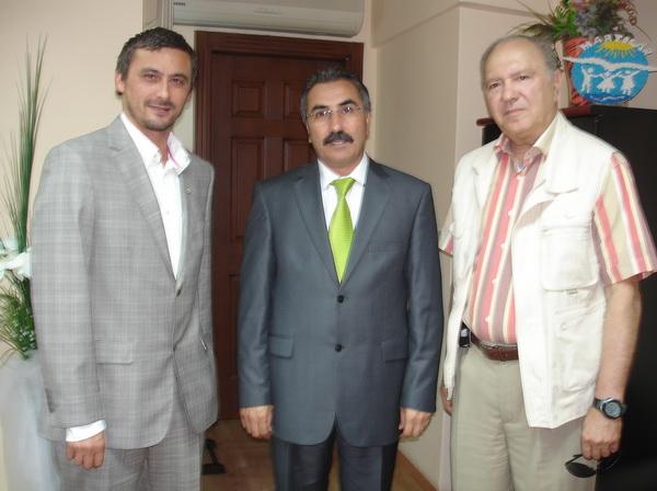 Gazetemizden Başkan İspirli'ye ziyaret