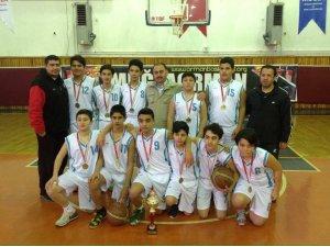 Marmaris Ufuk Koleji Basketbol'daMuğla İl 1.si oldu