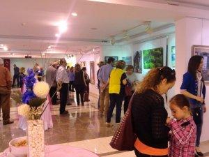 Menteşeli sanatçıların eserleri Marmaris'te
