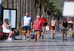 Gelen turist sayısı düştü