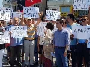 CHP MARMARİS ADALET İÇİN YÜRÜDÜ