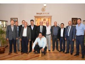 Şoförler Odası Başkanlarından Gürün'e Ziyaret